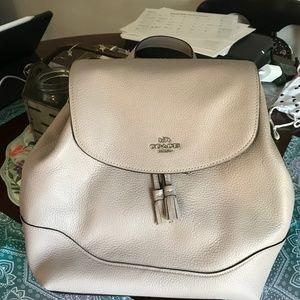 Coach Elle backpack in Grey/Birch